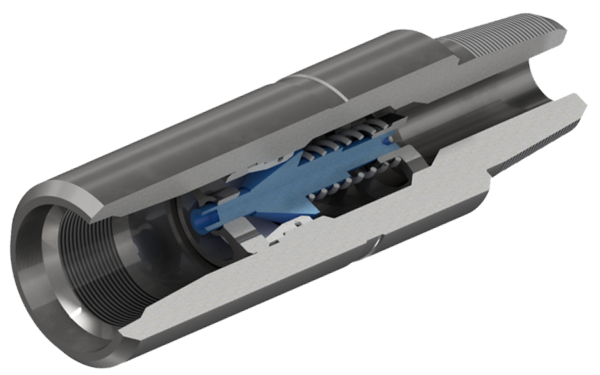 Клапан обратный тарельчатый с замковой резьбой ГОСТ Р 50864-96